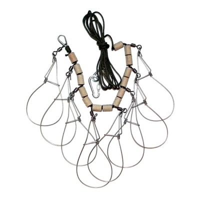 Рыболовный кукан из нержавейки 'Зверобой-8' купить в интернет магазине